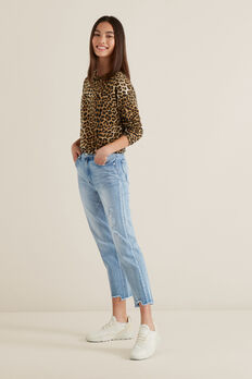 Straight Leg Jean  LIGHT WASH  hi-res