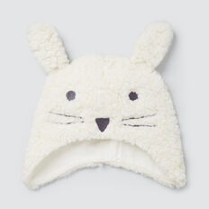 Sherpa Bunny Hat  CANVAS  hi-res