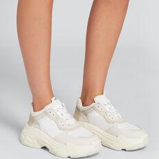 Amanda Sneaker  CREAM  hi-res