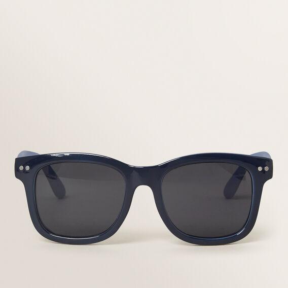 Colour Split Sunglasses  NAVY  hi-res