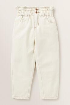 Elasticated Jeans  CREAM  hi-res