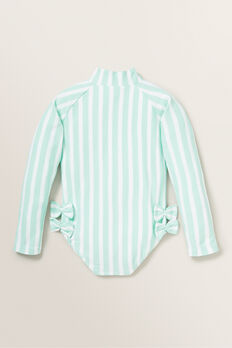 Stripe Rashsuit  BABY MINT  hi-res