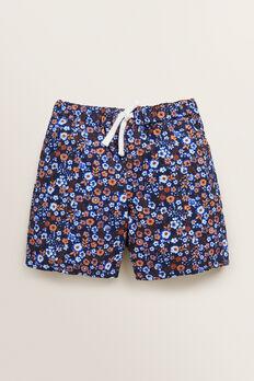 Ditsy Floral Short  MIDNIGHT BLUE  hi-res