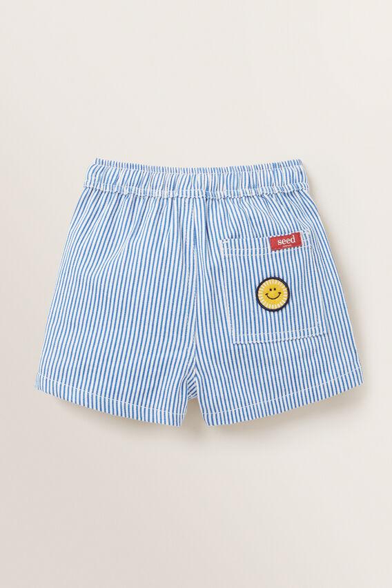 Classic Short  BLUE STRIPE  hi-res