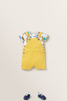 Woven Overall  MARIGOLD  hi-res
