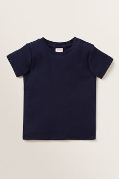 Rib Tee  MIDNIGHT BLUE  hi-res