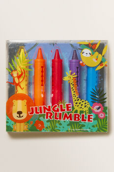 Jungle Rumble Bath Crayons  MULTI  hi-res