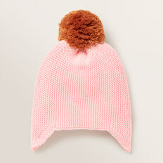 Knitted Beanie  BUBBLEGUM  hi-res