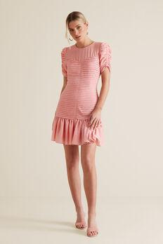 Pleat Party Dress  PINK OCELOT  hi-res