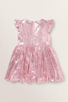 Sequin Dress  ICE PINK  hi-res