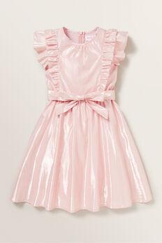 Lurex Midi Dress  ICE PINK  hi-res