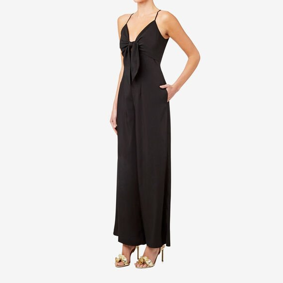 Peek-A-Boo Jumpsuit  BLACK  hi-res
