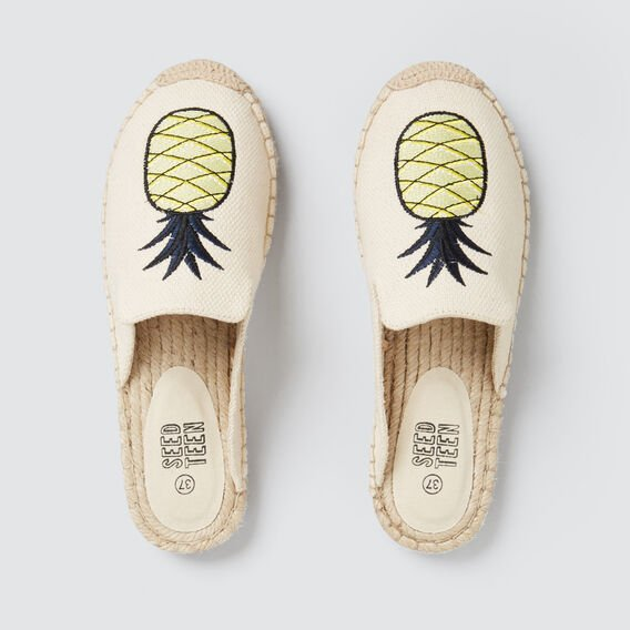 Pineapple Espadrille  CANVAS  hi-res