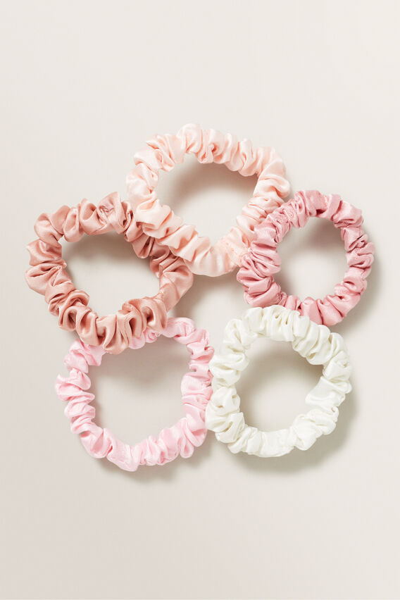Mini Scrunchie  BLUSH  hi-res