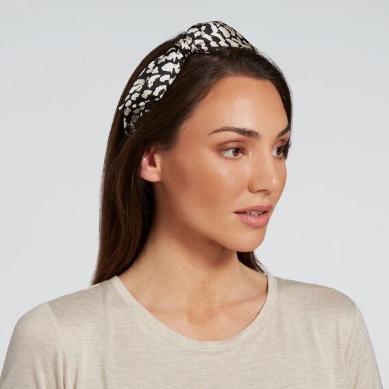 Bow Twist Headband  OCELOT  hi-res