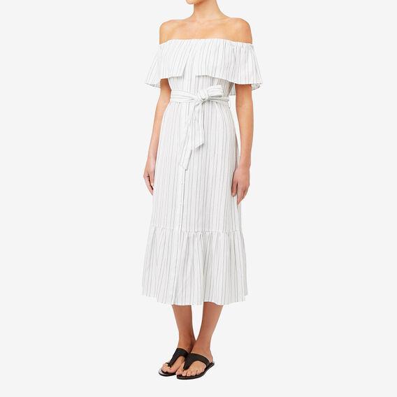 Variegated Stripe Dress  STRIPE  hi-res