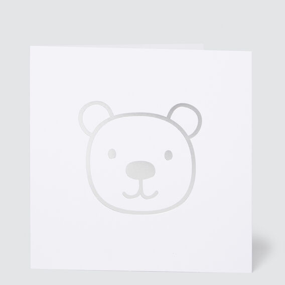 Large Bear Card  MULTI  hi-res