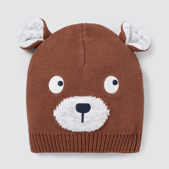 Bear Beanie  CLAY  hi-res
