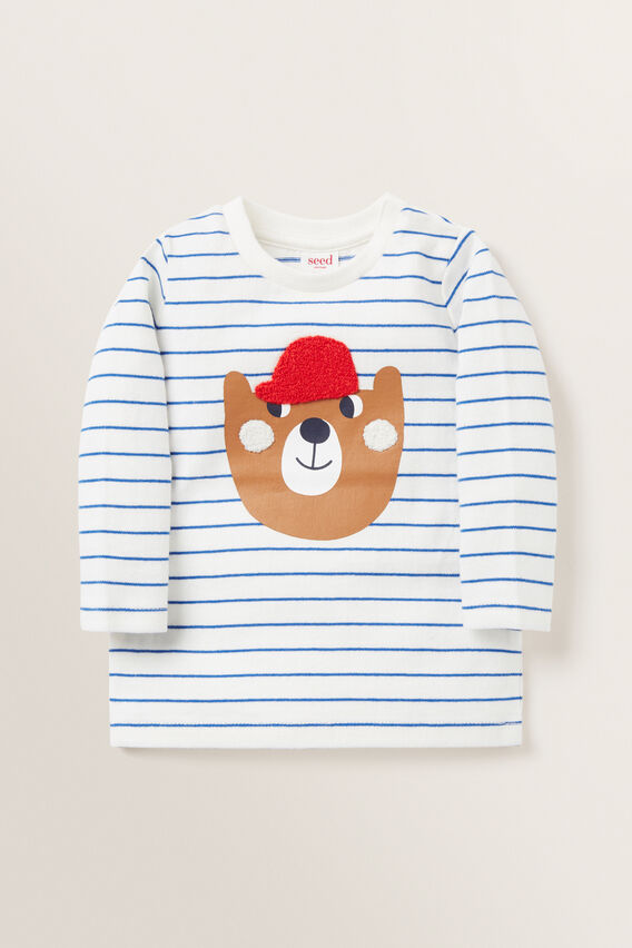 Novelty Bear Tee  VINTAGE WHITE  hi-res
