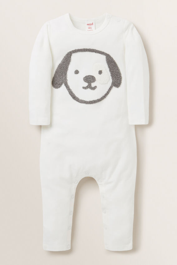 Puppy Jumpsuit  CANVAS  hi-res