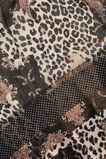 Mixed Paisley Ocelot Scarf  BLACK MULTI  hi-res
