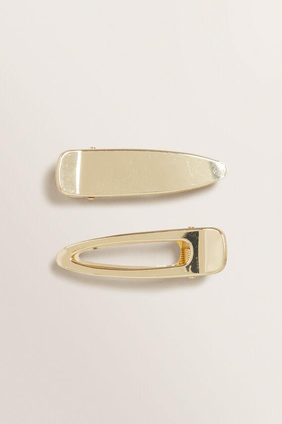 Metal Clip Set  GOLD  hi-res