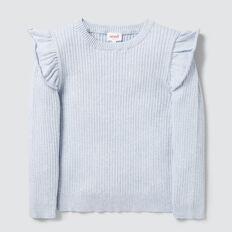 Rib Sweater  SOFT BLUE MARLE  hi-res