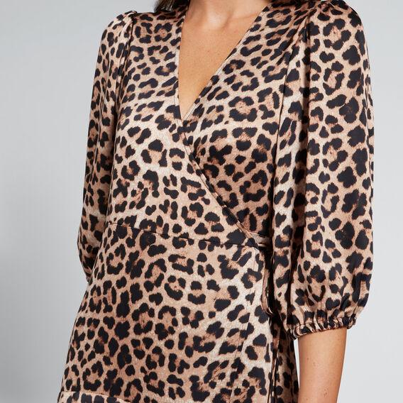 Leopard Print Dress  LEOPARD PRINT  hi-res