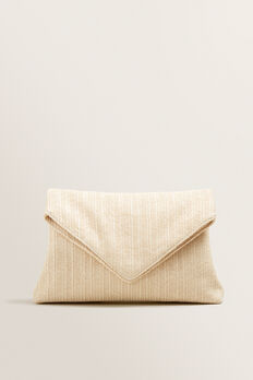 Margot Fold Over Pouch  CREAM  hi-res