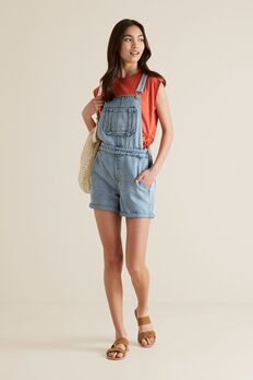 Denim Overalls  SKY WASH  hi-res