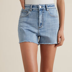 Denim Short  SKY WASH  hi-res