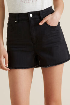 Denim Short  BLACK WASH  hi-res