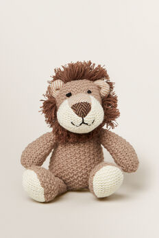 Hunter The Lion Rattle  BROWN  hi-res