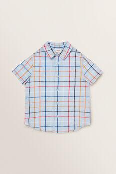 Check Shirt  PALE BLUE  hi-res