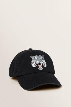 Tiger Cap  BLACK  hi-res