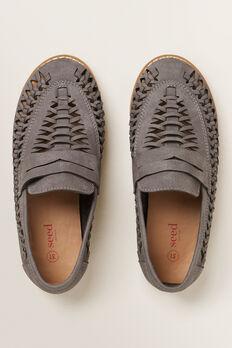 Dress Shoe  GREY  hi-res