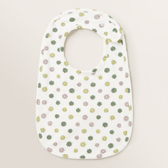 Floral Bib  CANVAS  hi-res