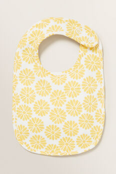 Floral Bib  SUNFLOWER  hi-res