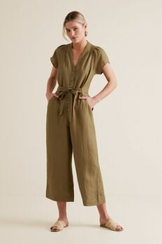 Button Through Jumpsuit  RICH MOSS  hi-res