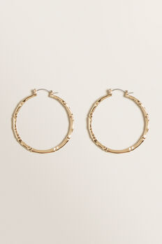 Golden Bamboo Hoop  GOLD  hi-res