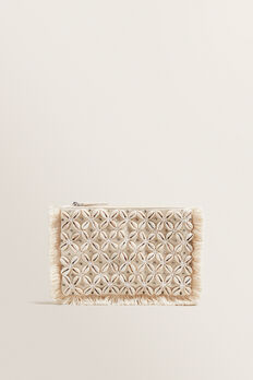 Shell Pouch  CREAM  hi-res