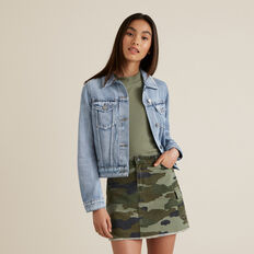 Denim Trucker Jacket  SKY WASH  hi-res