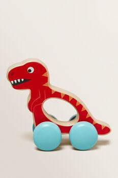 Wheelie Dino  RED  hi-res