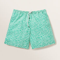 Boys Mini Me Floral Board Short  CLOVER  hi-res