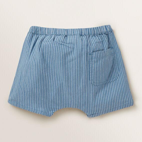 Stripe Denim Short  BLUE WASH  hi-res