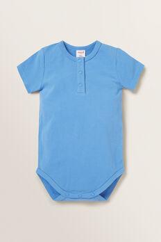 Henley Bodysuit  CORNFLOWER BLUE  hi-res