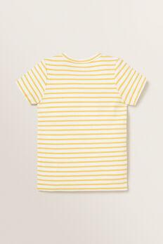 Rib Stripe Tee  SUNFLOWER  hi-res