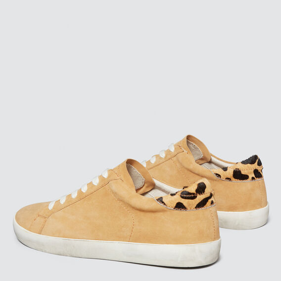 Ollie Leather Sneaker  CAMEL  hi-res