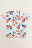Animal Yardage Print Tee  NORDIC BLUE  hi-res