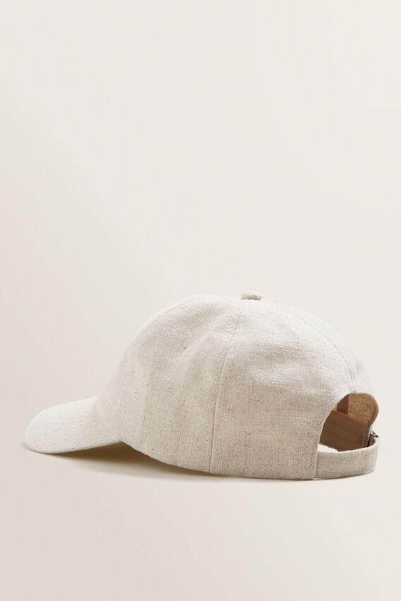 Textured Cap  NATURAL  hi-res